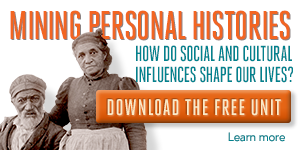 Download the FREE 1-week unit for Mining Personal Histories